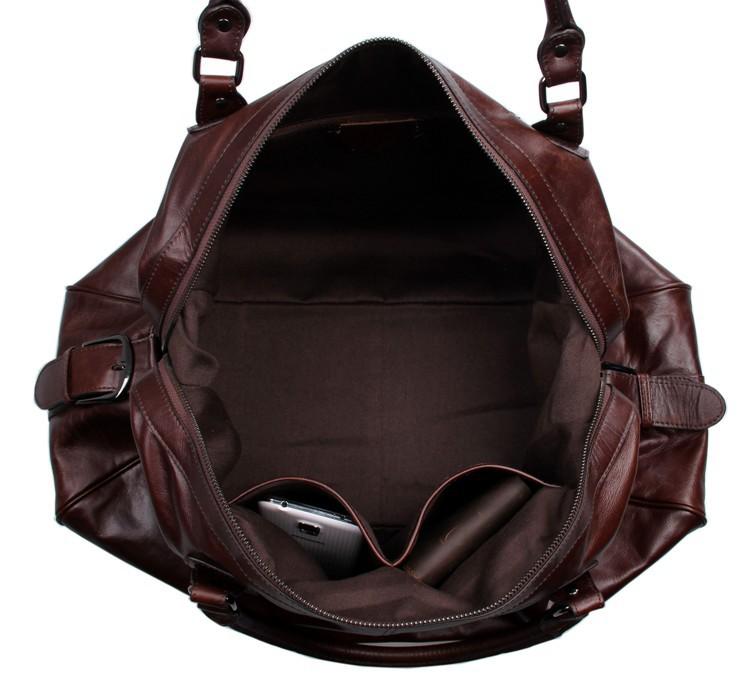 Túi xách du lịch da bò 360 thời trang khoe cá tính