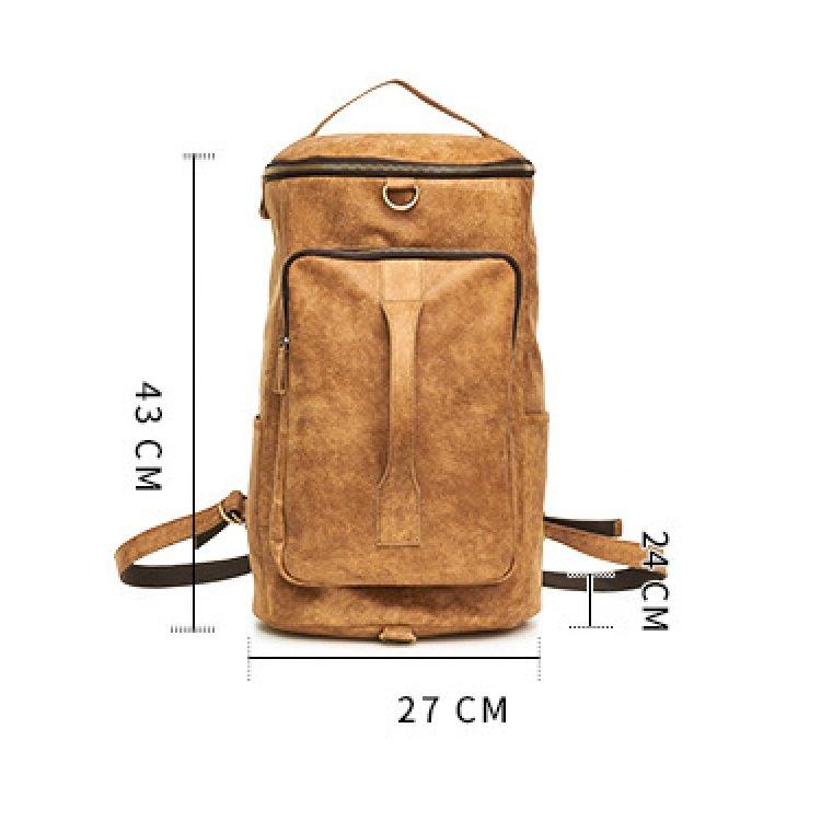 Túi xách du lịch da bò 370 dây balo đa năng, thời trang