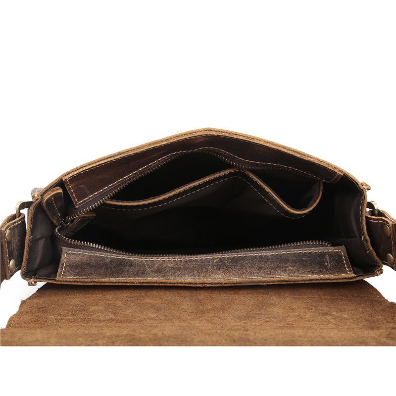 Túi xách da bò đeo chéo 091 đựng giấy tờ tài liệu A4