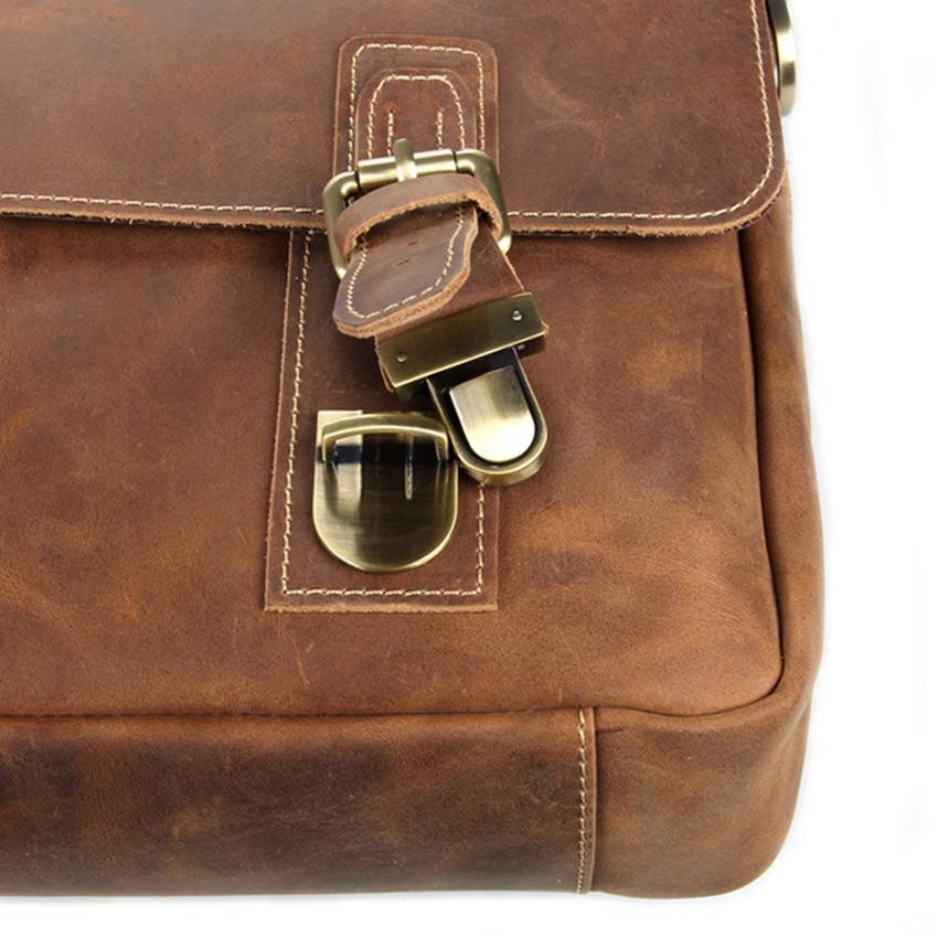 Túi da bò đeo chéo nam 097 đựng laptop 15' lịch sự sang trọng