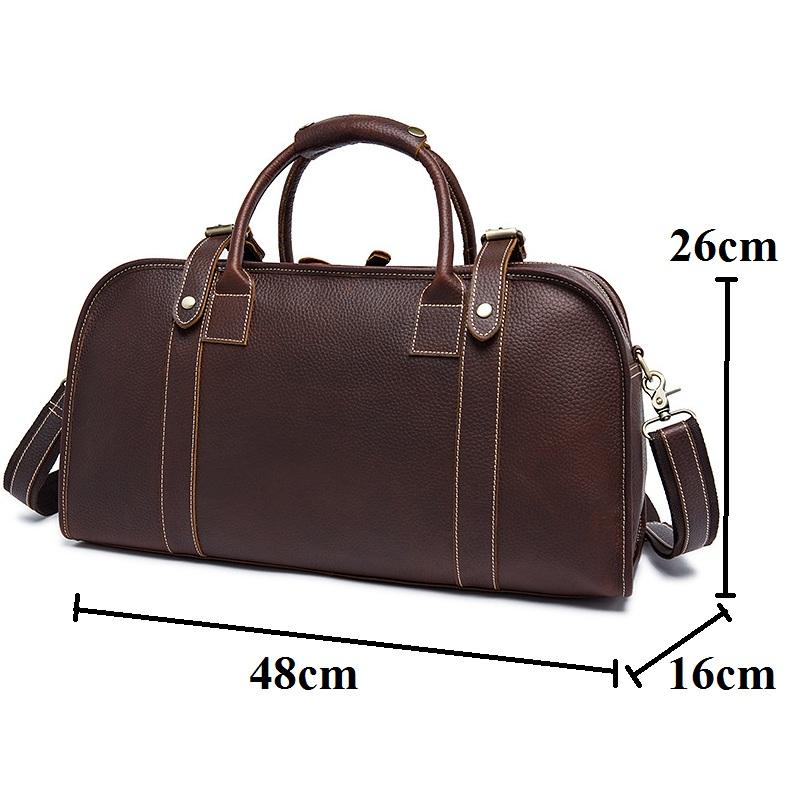 Túi xách da bò đeo chéo 688 du lịch công tác cá nhân