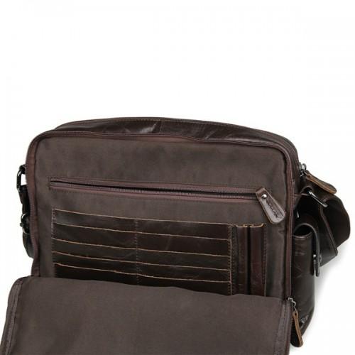 Túi xách đeo chéo da bò
