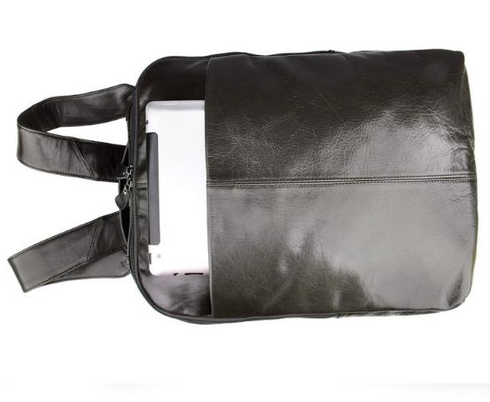 balo da bò đựng laptop đen 295 thời trang