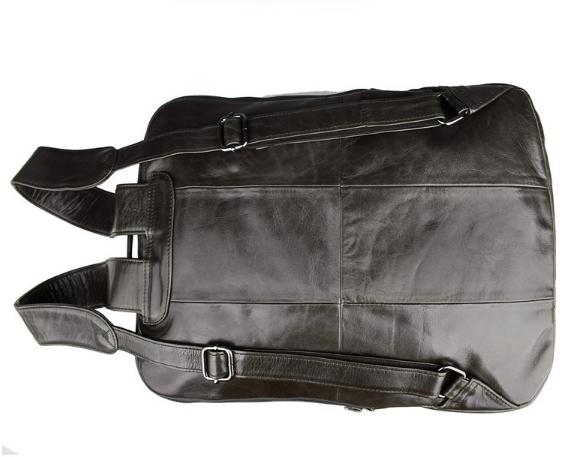 Balo da bò đựng laptop đen 295 phong cách sành điệu