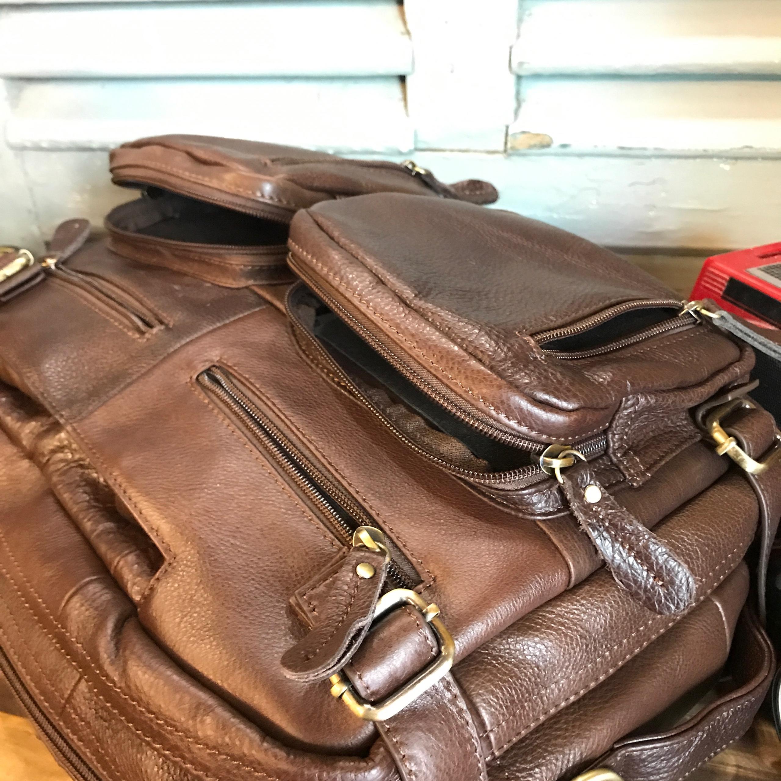 Cặp laptop, balo, túi xách đa năngda bò nam #087