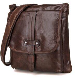 Túi xách da nam đeo chéo da bò 183 thời trang