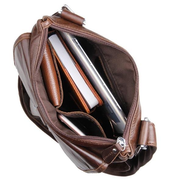 Túi xách da nam đeo chéo 183 thời trang