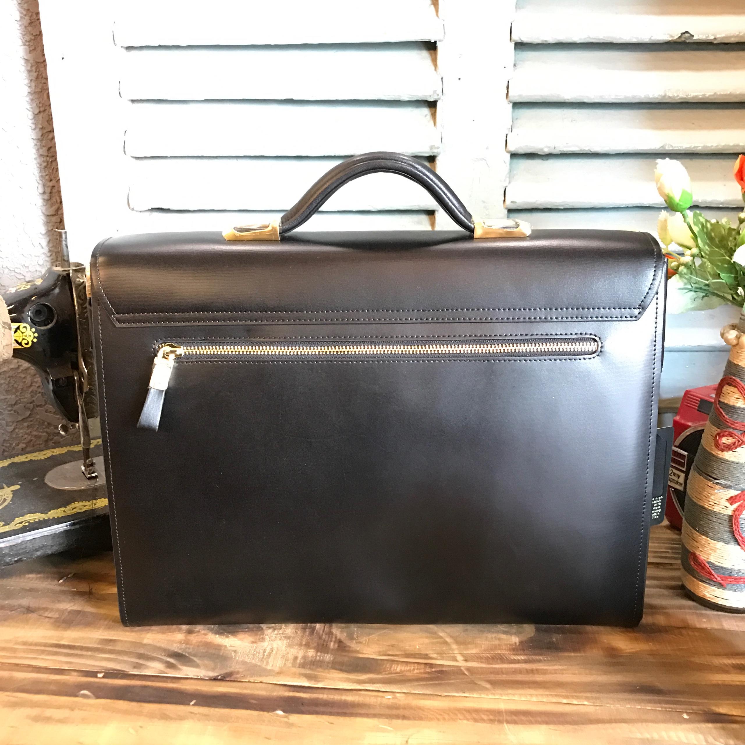 Cặp da bò Vintage 517 Chất da dày, kiểu dáng cổ điển