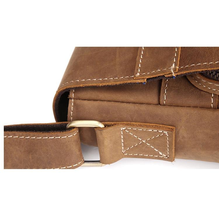 Túi da ipad đeo chéo 187 màu vàng da bò thời trang ipad 9.7''
