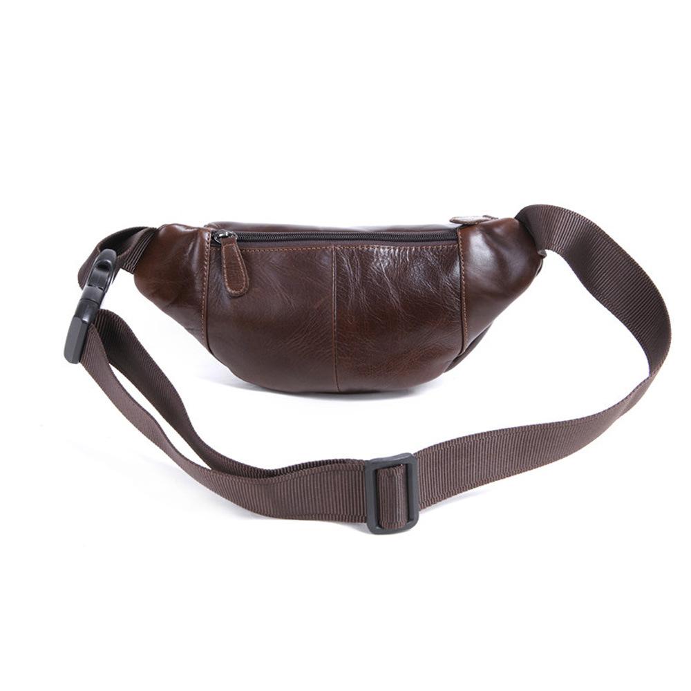 Túi da bò đeo bụng 904 thời trang tiện lợi