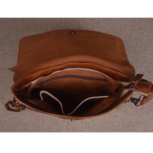 Túi da bò cầm tay đẳng cấp 807 da sơn nâu cánh gián đẳng cấp đến từ phụ kiện