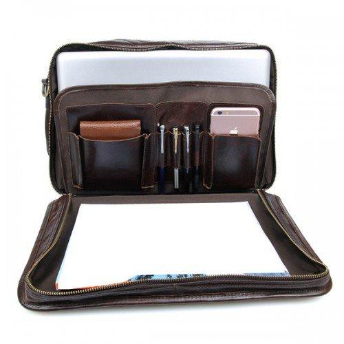 Túi xách laptop công sở da bò 215