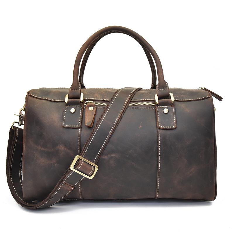 Túi da bò du lịch cá nhân 814 cao cấp lịch lãm thời trang