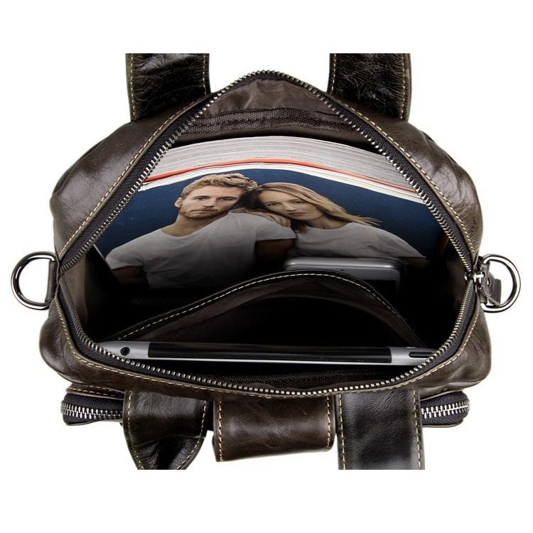 Túi đứng da bò macbook 540 trẻ trung thời trang kiểu đứng