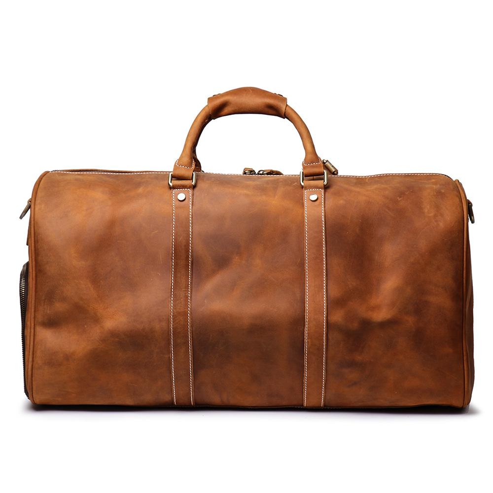 Túi xách du lịch da bò 371 da bò bigsize siêu cao cấp