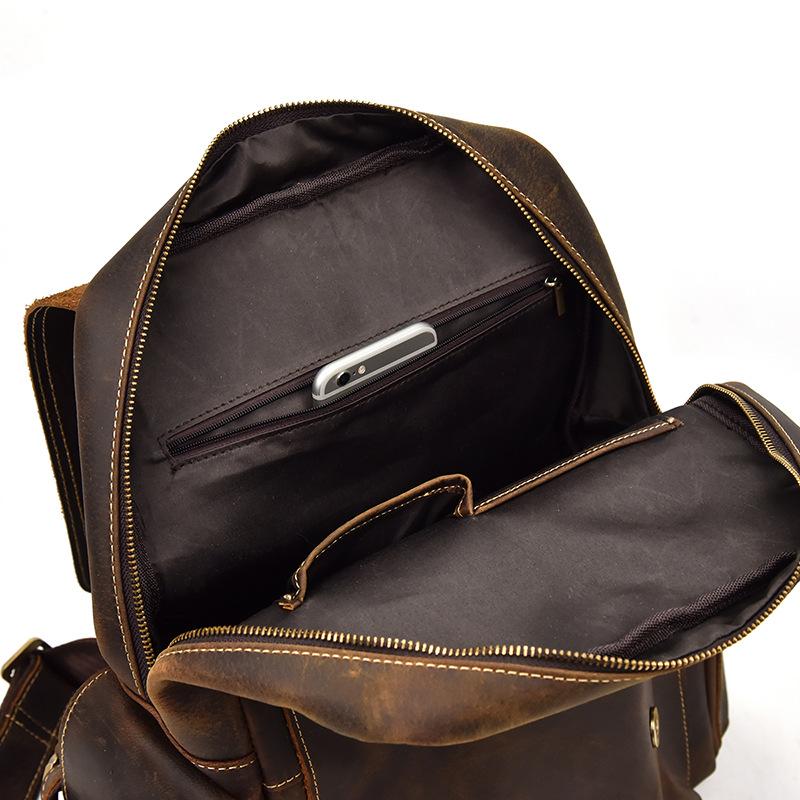 Balo da bò thời trang 116 bụi bặm đường phố đựng laptop 14''