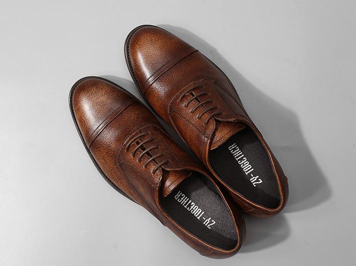 Giày da bò TheKing GD002 da bò xịn đẳng cấp