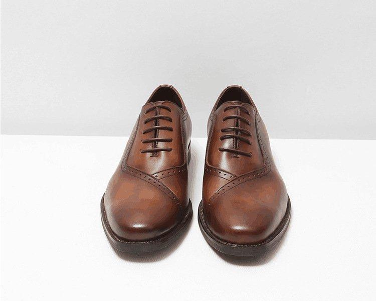 Giày da nam Oxford cao cấp GD003 thanh lịch cho ngày mới