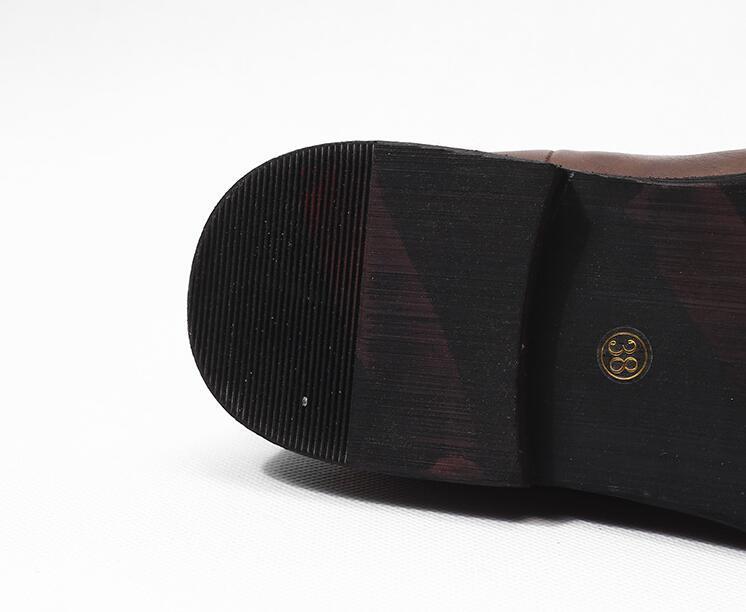 Giày boot Chelsea da nam cao cấp GD004 thời thượng