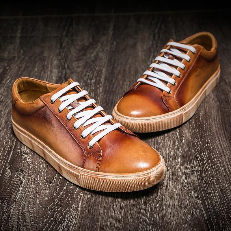 Giày da thể thao nam cao cấp GD005 sức hút khó cưỡng lại.