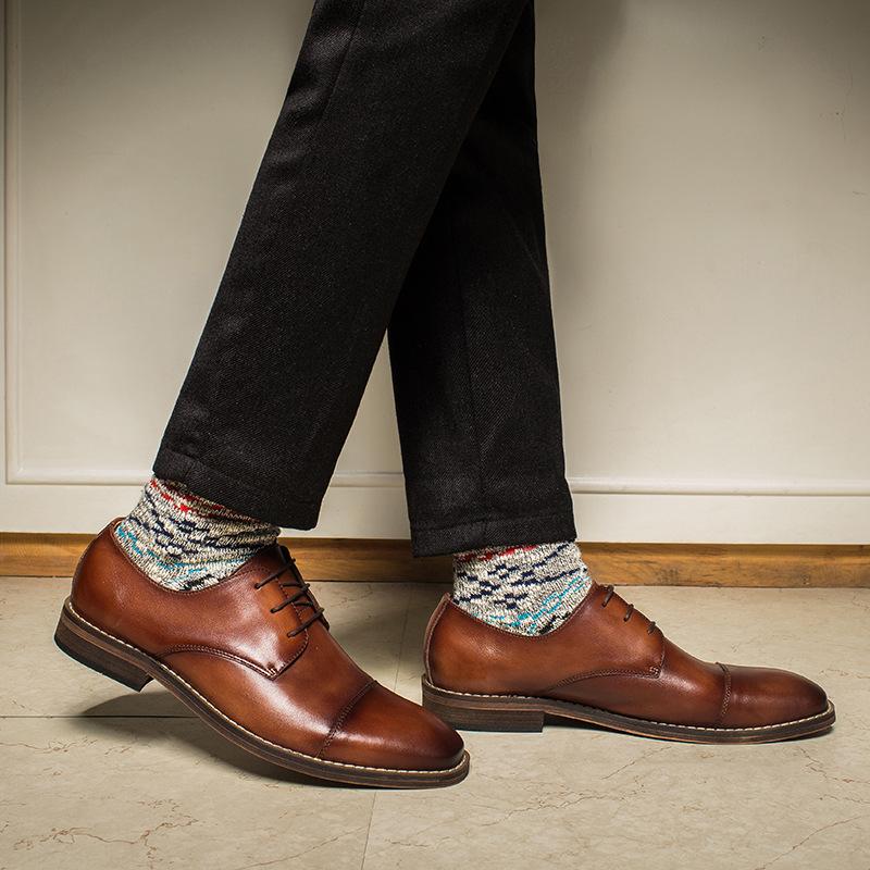 Giày da nam Oxford cao cấp GD008 tinh xảo, thời thượng