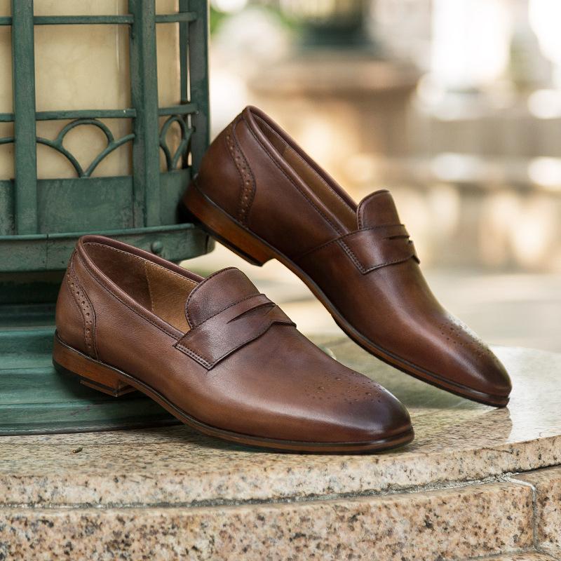 Giày lười nam công sở cao cấp GD012 của cá tính, đẳng cấp