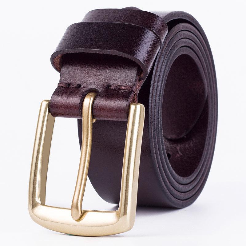 Thắt lưng da nam cao cấp TL1005 đơn giản tinh tế