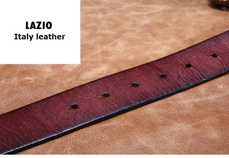 Thắt lưng da nam cao cấp TL1012 phong cách trẻ, cho ngày năng động