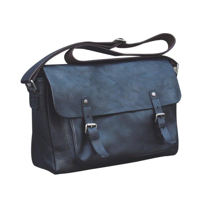 Túi chéo da bò xịn 441 màu đen thiết kế trẻ trung năng động