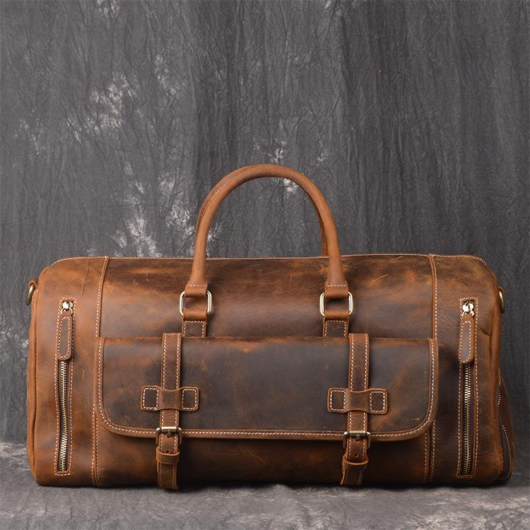 Túi xách du lịch da bò 615 cao cấp lịch lãm thời trang