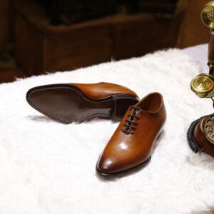 Giày da nam cao cấp nâu