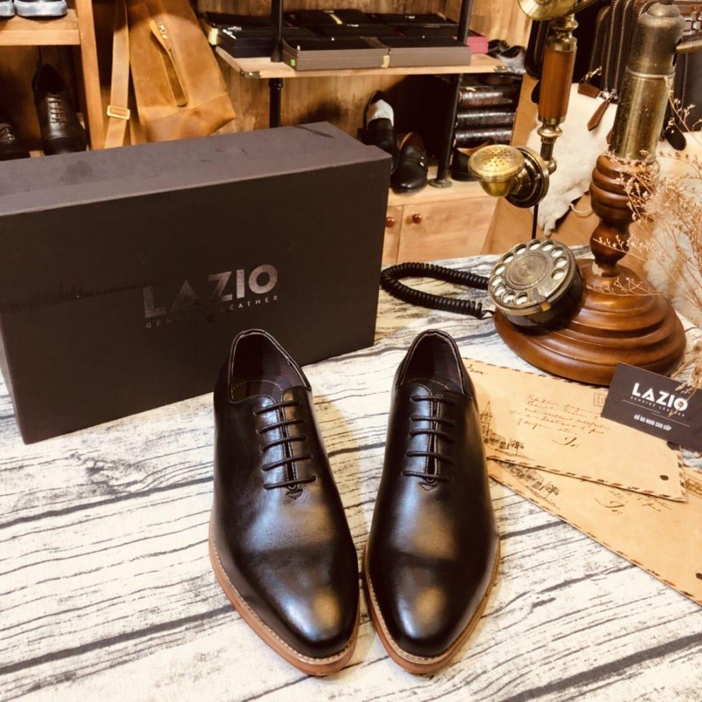 Giày da nam cao cấp Lazio GD018 mũi nhọn thời trang
