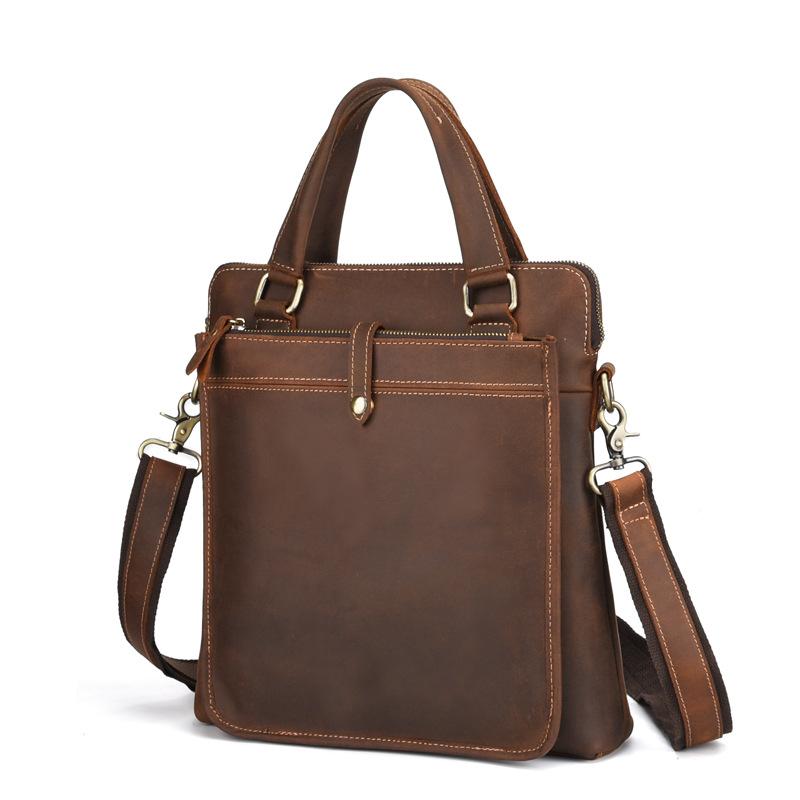 Túi xách da bò macbook 515 trẻ trung thời trang kiểu đứng