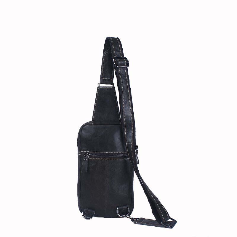 Túi bao tử da bò xịn 920 màu đen da bò du lịch thời trang