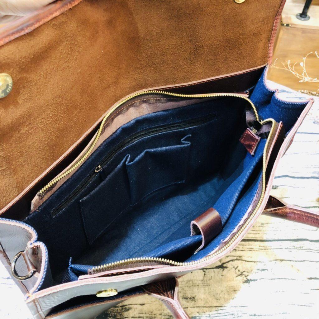 Túi xách văn phòng da bò cao cấp 562 phong cách sang trọng