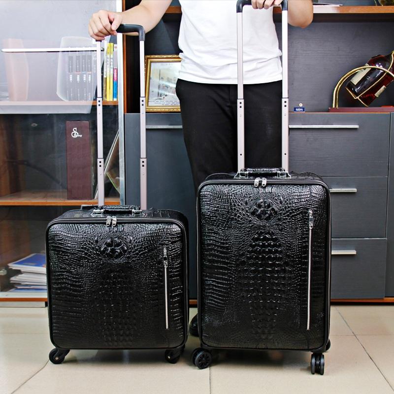 Vali da bò cao cấp 626 cần kéo tiện dụng khi đi du lịch
