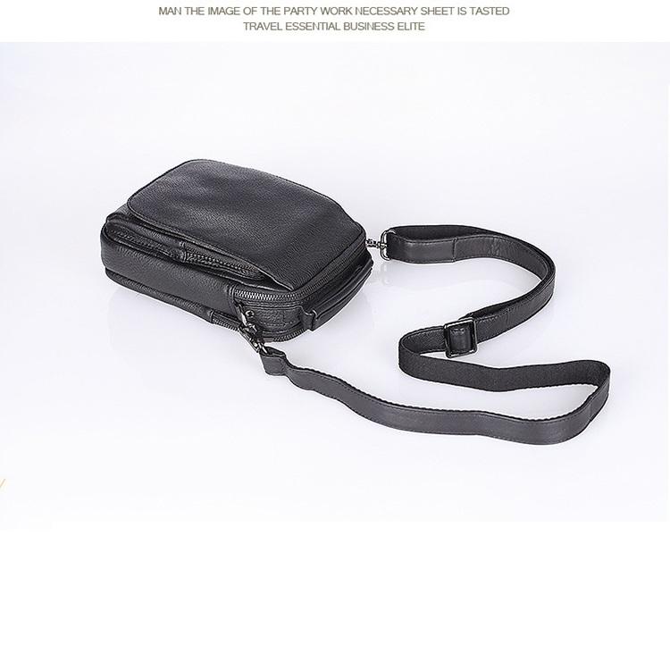 Túi chéo da bò thời trang 447 nhỏ gọn tiện lợi